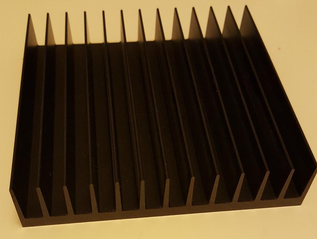 профиль алюминиевый радиаторный