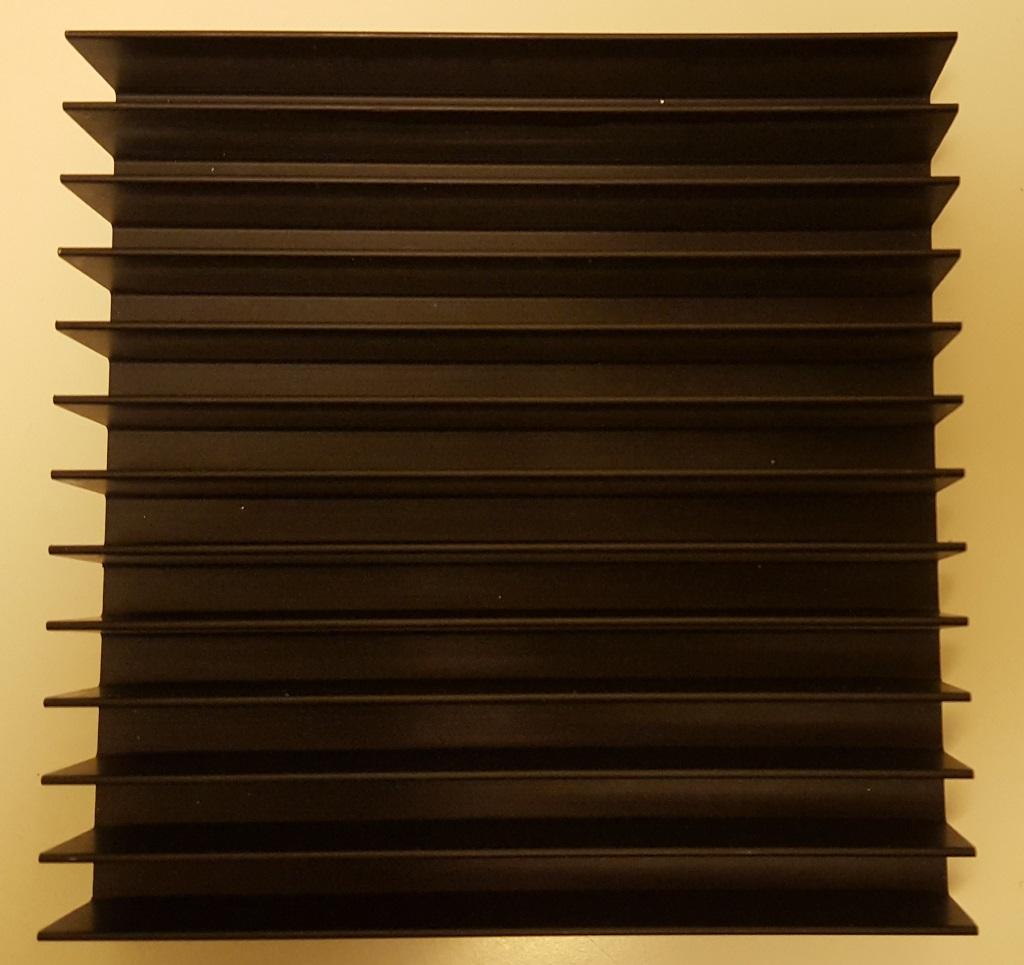 Черненый радиатор БПО-1908
