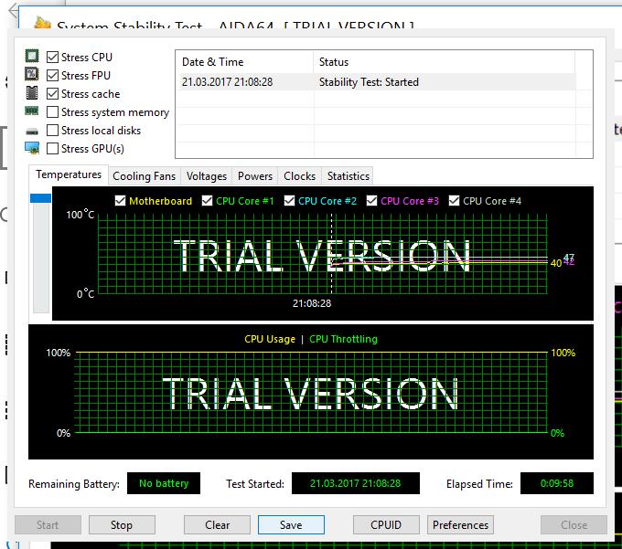 температура процессора Beelink z83 тест на стабильность