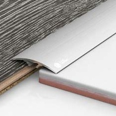 Алюминиевый порожек скрытого монтажа