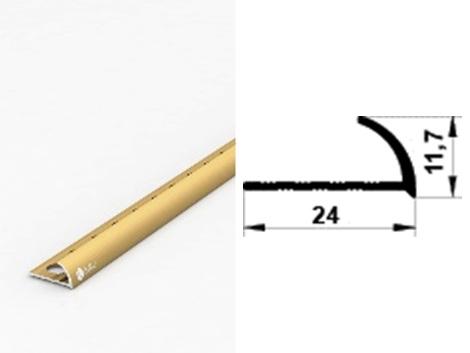 Алюминиевый порожек ПАС-1305