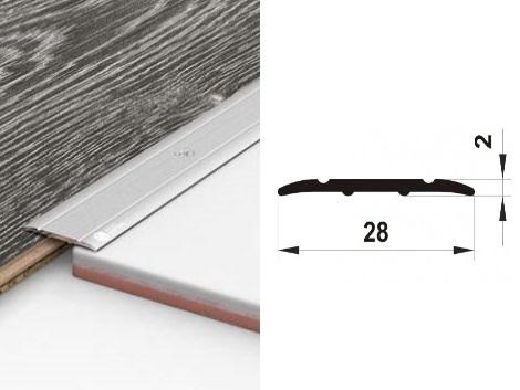 Алюминиевый порожек ПАС-1314