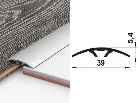 Алюминиевый порожек ПАС-1308