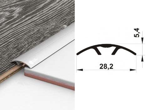 Алюминиевый порожек ПАС-1501