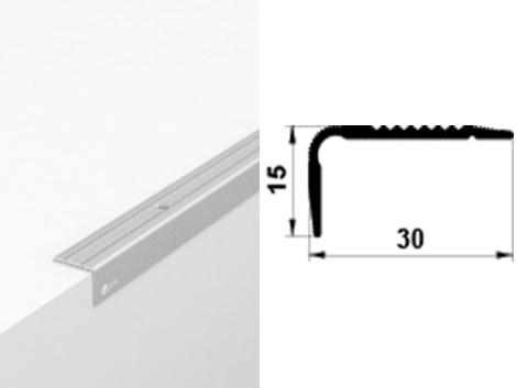 Алюминиевый порожек У3015