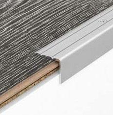 Алюминиевые порожки лестничные угловые